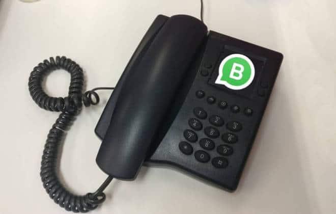 Usar o WhatsApp com um número de telefone fixo